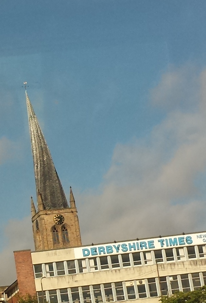 Spire of Chesterfield Church