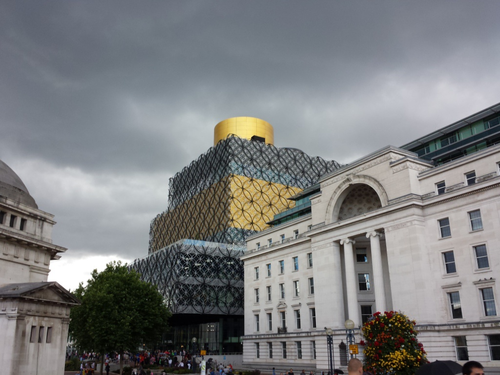 The New Birmingham Library