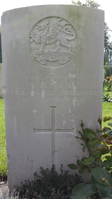 Charles' Grave in Ypres